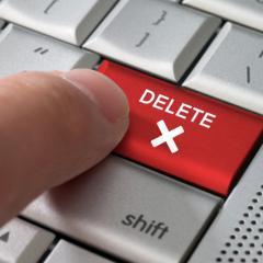 Cancellazione sicura con certificazione di avvenuta distruzione dei dati