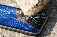 Recuperare dati da un Samsung Note schiacciato da uno scooter