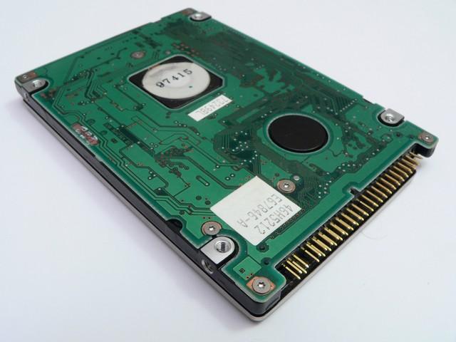 elettronica hard disk danneggiato