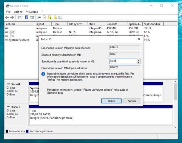 recuperare la partizione persa da un hard disk