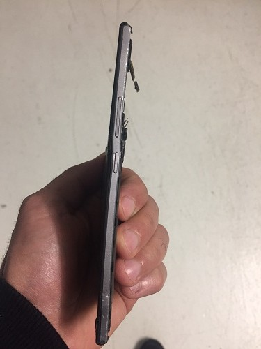 recuperare la rubrica da un cellulare Wiko schiacciato da una automobile