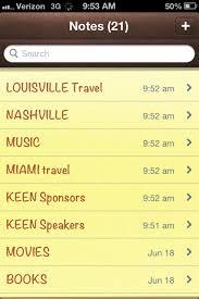 recupero delle note cancellate da un iPhone 3g