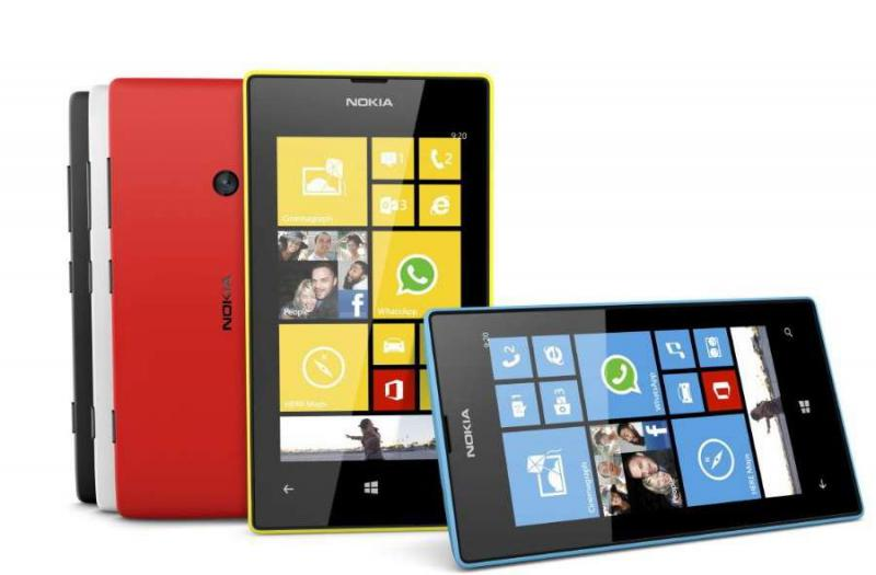 recuperare le foto da un cellulare Nokia Lumia 520 che mostra un messaggio di errore