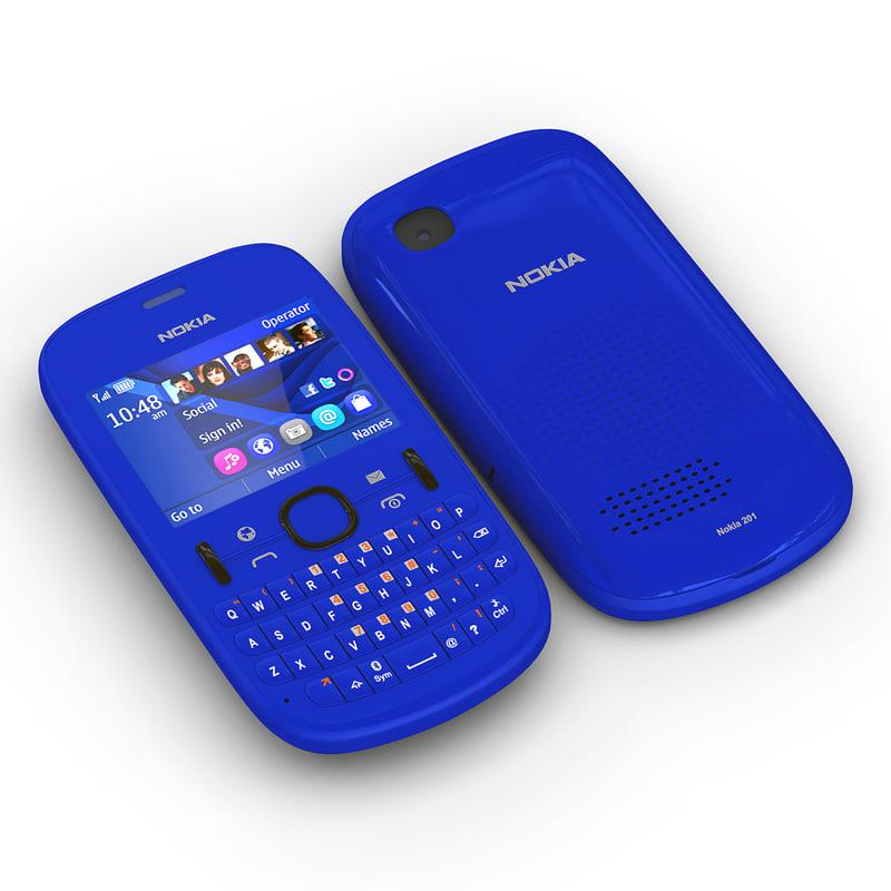 Recupero dati da un cellulare Nokia 201