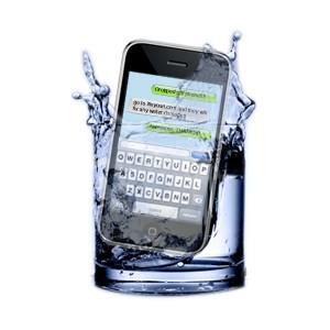 recupero dati telefono caduto in acqua