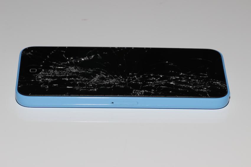 iPhone 5c rotto recupero dati